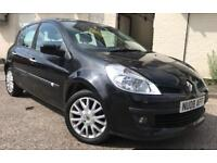 Renault Clio 2008 1.2 *full service history* *low mileage* *long mot* not polo fiesta Corsa astra