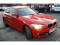 BMW 1 SERIES 2.0 116D SPORT 3d AUTO 114 BHP Apply for finance O (red) 2013