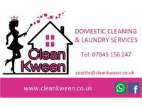 CleanKween - Domestic cleaning & Laundry Services