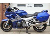 2002 YAMAHA FJR1300 BLUE WITH LUGGAGE