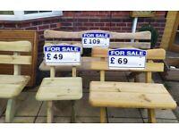 Wooden Garden Bench