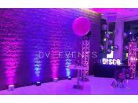 Wedding lights, decorative lights, mood lights hire.