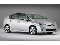 PCO Car Hire/Rent Toyota Prius Hybird & Seven Seater, Uber Ready, from £100/week