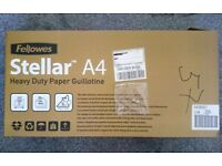 Fellowes Stellar A4 Heavy Use Home Office Guillotine Paper Photo Photograph Cut Trim