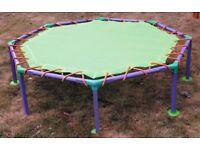 Octagonal Mini Trampoline 116cm diameter x 32cm (H)