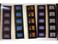 Pink Floyd The Division Bell Very Rare Original Advert Cells x 20 Strips