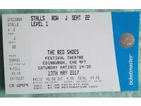 Matthew Bourne's 'The Red Shoes', Saturday 13th May matinee, Edinburgh