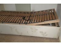Orthopeadic bed, electric, excellent condition, easy to adjust with remote control