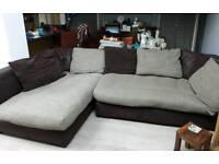 Large corner sofa or use separately