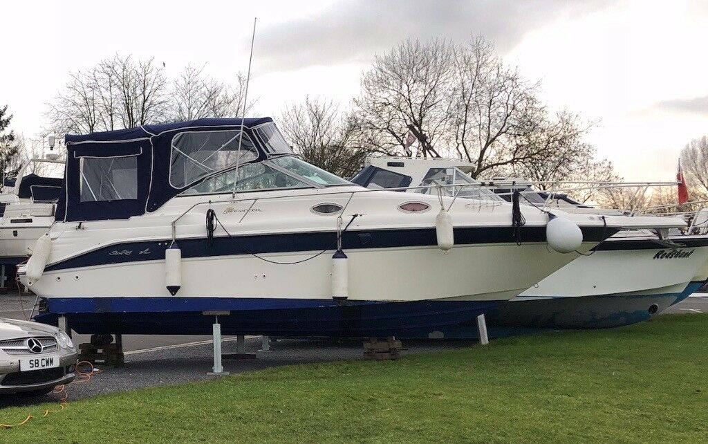 Sea Ray Sundancer 270DA For Sale 1997 build, twin mercruiser 4 3L engines  to new (2015) alpha 1's | in Southwell, Nottinghamshire | Gumtree