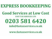Good quality BOOKKEEPING SERVICES at very low cost.