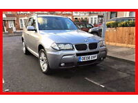 2008 BMW X3 2.0 20d M Sport 5dr --- Automatic --- Leather seats --- Hpi Clear --- alternate4 Qashqai