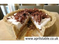 Healthy Vegan and Gluten Free Bakery - Cakes made to Order, customisable and allergen friendly