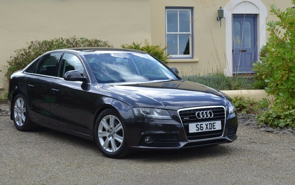 reduced audi a4 3 0tdi b8k quattro 2008 manual fsh. Black Bedroom Furniture Sets. Home Design Ideas