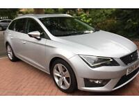 SEAT LEON FR 2.0TDI Tech Pack/ FSH/ AUTO/ VERY LOW MILIEAGE