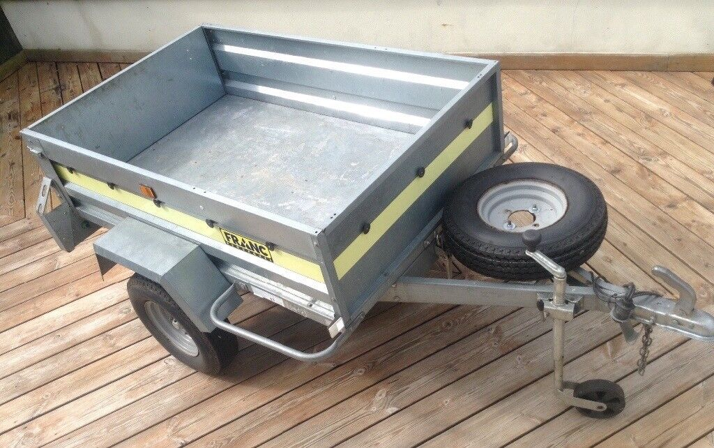 Franc tipping box trailer