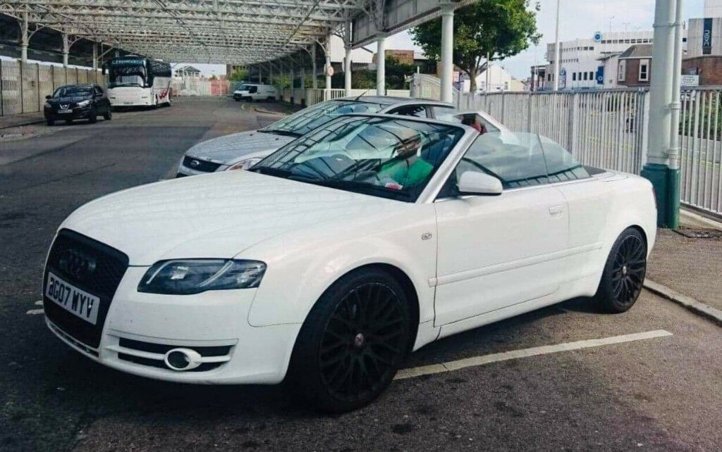 Unique Audi A4 B7 Convertible Pearl White 2007 In Eastbourne East Sussex Gumtree
