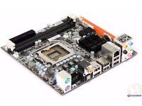 DFI Lanparty P55 T36, MINI-ITX Motherboard and PSU