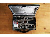 Buffet B12 Clarinet with accessories