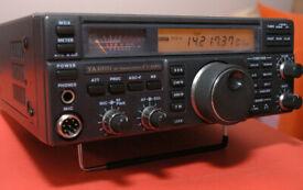 radio ham yaesu ft840 tranceiver or swap for a TECSUN S-2000 HAM Amateur Radio