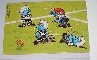 """Puzzle """"Fussballschlümpfe"""" Unten Links"""