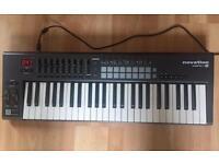 Novation Launchkey 49 midi controller keyboard