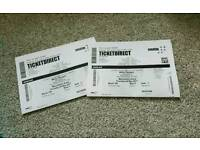 X 2 micky flannagan tickets 4th may MEN