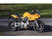 BMW F800S ABS superb - belt drive sports/tour LOW MILES