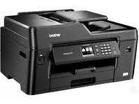 Brother MFCJ6530DW Wireless A3 Inkjet colour Printer + Scanner + Fax