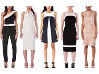 JOB LOT OF 140 DESIGNER DRESSES AND EVENING WEAR £1,600 - RETAIL VALUE OF OVER 10K