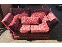 Drop End Classic Sofa