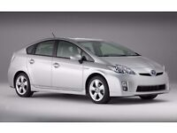 PCO Car Rent or Hire - Toyota Prius 61 plate (2011) Uber ready