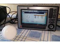 """Raymarine 9"""" E90W Chartplotter - touch Screen and Manual operation, in full working order."""