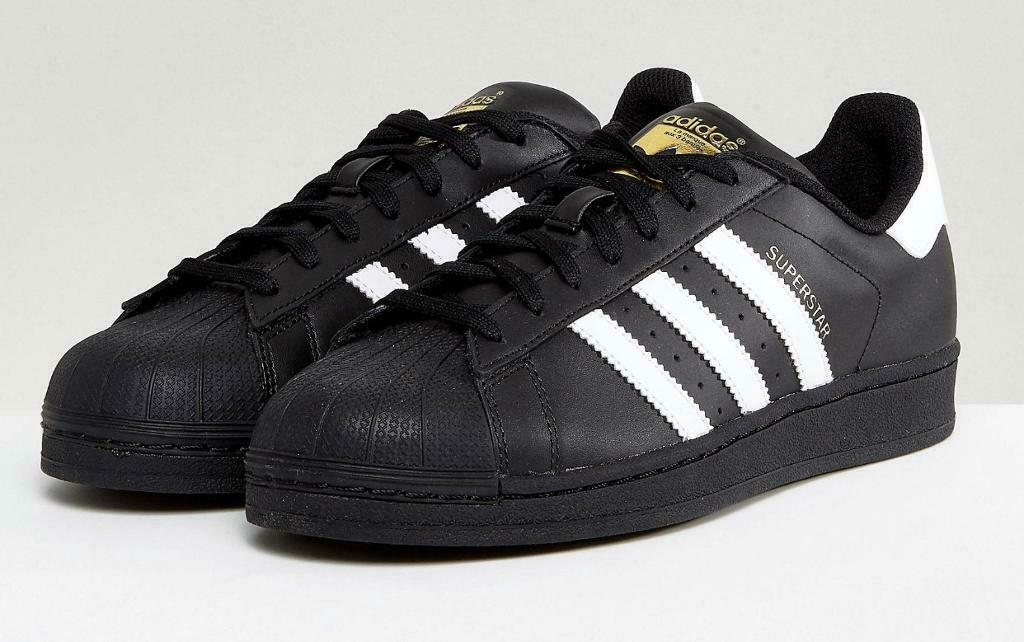timeless design 1f6f7 20659 WOMENS SIZE 5 Black Adidas Superstar trainers | in Newent, Gloucestershire  | Gumtree