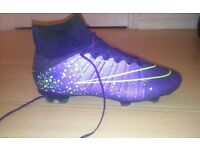 NIKE MERCURIAL SIZE 7 FOOTBALL BOOTS acc
