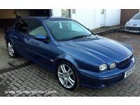 BEAUTIFUL 2004 Jaguar X type xtype 2.1 V6 SPORT, denim blue, Black half leather, FSH, STUNNING CAR!
