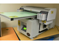 BRAND NEW FLATBED A2 TEXTILE, GARMENT, FABRIC, T-SHIRT PRINTER rrp £12,500