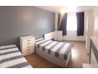 EXTRA LARGE TWIN ROOM FOR FRIENDS AT DIRLETON RD