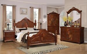 6 PC QUEEN/KING BEDROOM SETS ON SALE (AD 94)