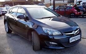 VAUXHALL ASTRA 1.4 EXCITE 5d 98 BHP Apply for finance Online toda (black) 2014