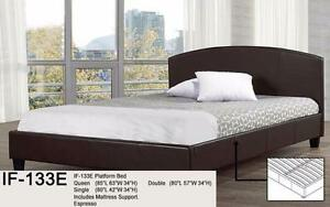 Deluxe Queen Platform Bed & Mattresses - FREE - FAST  DELIVERY