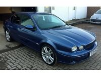 BEAUTIFUL 2004 Jaguar X type xtype 2.1 V6 SPORT, denim blue, Black half leather, FSH, STUNNING CAR!