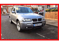 2008 BMW X3 2.0 20d M Sport 5dr --- Automatic --- Leather seats --- Hpi Clear --- alternate4 Qashqai