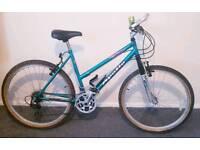 Apollo ladies mountain bike.