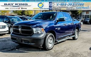 2016 Ram 1500 ST, 4X4, A/C, BEDLINER, PWR WINDOWS /LOCK, CREWCAB