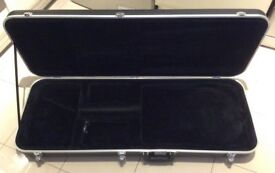 A Deluxe ABS Electric Guitar Case For Sale.