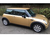 MINI COOPER ONE EXCEPTIONALLY LOW MILEAGE AIR CONDITIONING SERVICE RECORDS MINI COOPER ONE S