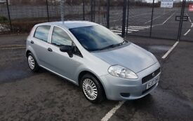 2007 Fiat Grande Punto Active 65 1.2 Petrol 5 Door - MOT March 2019 - 70787 Miles - 1 Prev Owner