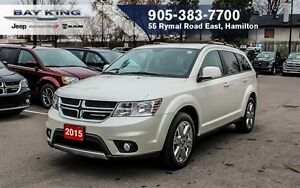 2015 Dodge Journey LIMITED, 7 PASSENGER, DVD, REMOTE START, BLUE