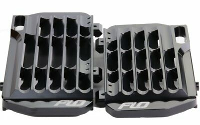 Radiator Braces - USED HONDA CRF250R / CRF450R & RX BLACK RADIATOR GUARDS / BRACE FLO MOTORSPORTS